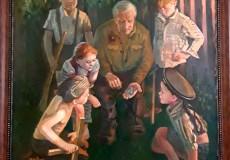 Выставка Уссурийских художников «День Победы»